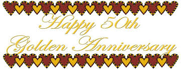 50th wedding anniversary image of 50th anniversary clipart 2458 free th wedding