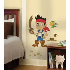 fun pirate room decor items disney jake neverland pirates sticker set