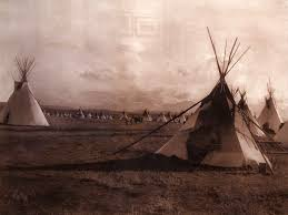 Blackfoot Indian Flag Blackfeet Tipis Tepees 1900 Native Americans Pinterest