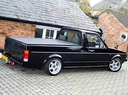 volkswagen rabbit truck custom vw caddy pickup google search vw rabbit trucks pinterest