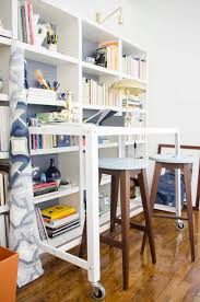 Desk And Bookshelves by Designing A Modern Standing Desk Office Thou Swell