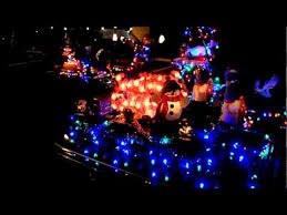 christmas lighted motorcycles youtube