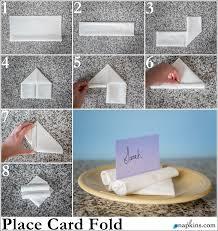 folded table place cards paper napkin folding fancy napkin folds napkins com