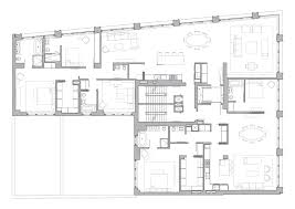 selldorf architects 10 bond street apartment building plan