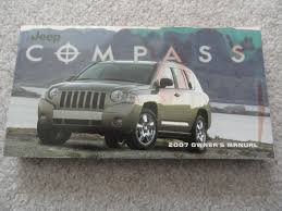 2007 jeep compass owners manual jeep amazon com books