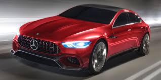 mercedes concept car mercedes amg gt concept highlights dynamic autonomous future