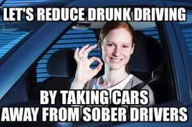 Drink Driving Memes - gun apologists use the worst analogies