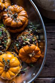 pumpkin foods stuffed mini pumpkins