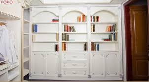 White Open Bookcase Aliexpress Com Buy White Open Wardrobe Plus Bookshelf From