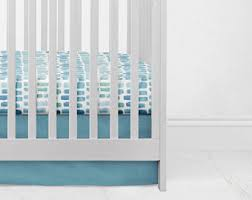 teal crib bedding etsy