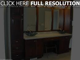 floating bathroom vanity mahogany modern home designs height