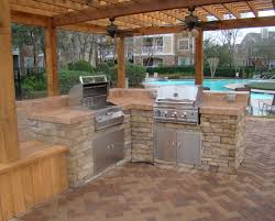 Outdoor Prefab Fireplace Kits by Bar Kitchen Islands Outdoor Island With Prefab Grill Pictures