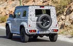 gypsy jeep new suzuki jimny spied looks like a mini g wagen may replace the