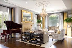 Mirrors In Living Room Decoration Large Fire Place Under Wall Mirror Gray Painted Wall