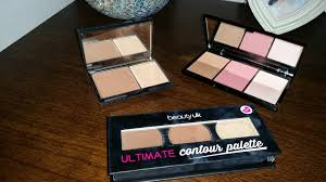contour and highlight drug store steals with make up revolution