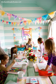 19 kids birthday party theme ideas watercolors parties and