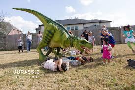 dinosaur birthday walking dinosaur entertainment for birthday party in dallas