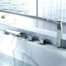 bathtub faucet wall mount wall mount waterfall tub faucet wall mount waterfall bathtub faucet