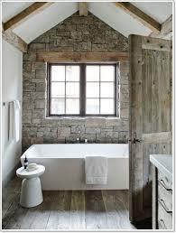 Barn Bathroom Ideas Bathroom Small Bathroom With Rectangle White Bathtub And Unique