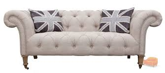 Chesterfield Sofas - Fabric chesterfield sofas