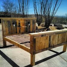 Pallet Bed Frame Plans How To Make Your Own Pallet Bed 99 Pallets