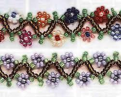 bracelet bead pattern images Free seed bead patterns 6 cute projects easy bracelets necklace jpg