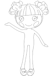 hoe draw lalaloopsy coloring super cute