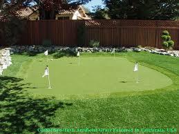 Putting Green In Backyard by Artificial Grass Carpet Tanque Verde Arizona Putting Green Flags