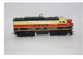 hallmark 2010 kansas city southern locomotive lionel trains