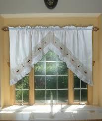 Cheap Kitchen Curtains Swag Kitchen Curtains Ideas Dearmotorist