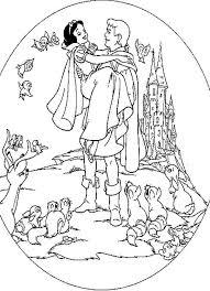 printable disney princess coloring pages snow white