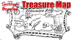 Old Treasure Map How To Draw A Treasure Map Youtube