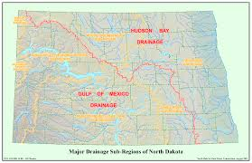 Map Of Missouri River Nd State Water Commission