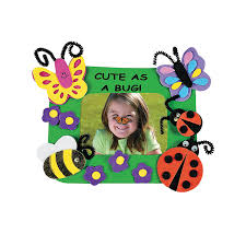 cute as a bug u201d picture frame magnet craft kit orientaltrading