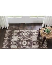 3 X 4 Area Rug Don T Miss This Bargain Kathy Ireland Silver Screen Mocha Slate