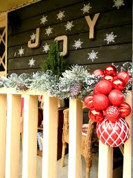 front porch decorating ideas country garland with