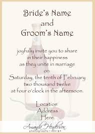 reception invite wording beautiful at home reception invitation wording picture