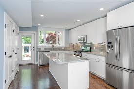 modern silver floor l kitchen cool farmhouse kitchen with l shape white kitchen cabinet
