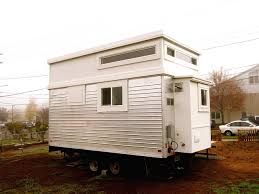 trailer turned tiny house 200 sq ft