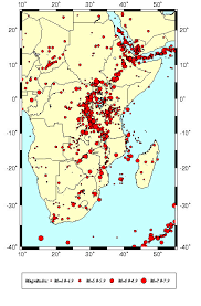 middle east earthquake zone map seismic hazard assessment in eastern and southern africa