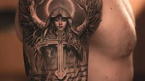 virgin mary skeleton tattoo meaning 1000 geometric tattoos ideas