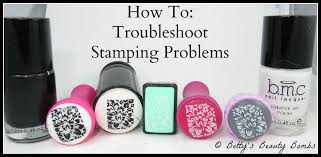 nail art 101 troubleshooting stamping problems lazy betty