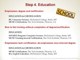 education on resumes how to list education on resume with no degree 10202