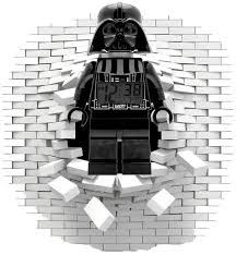lego darth vader wall sticker decal art og text lego darth vader wall sticker decal art og text