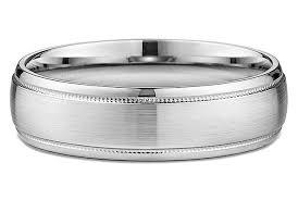 satin finish ring men s 6mm satin finish milgrain wedding ring in 18kt white gold