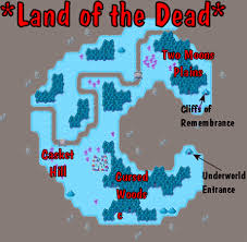 map of the dead land of the dead map with callouts and map contents aveyond 2