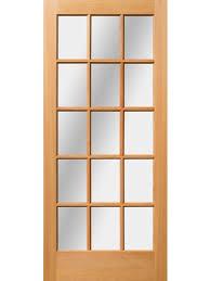 15 Lite Exterior Door 36 X 84 3 0 X 7 0 36 X 84 3 0 X 7 0 Sizes