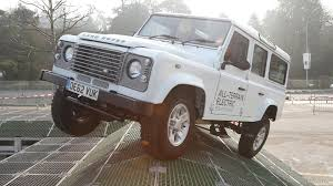 electric land rover 2013 land rover electric defender concept off road demonstration