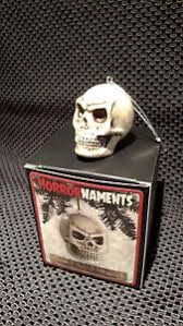 new horrornaments halloween christmas tree ornaments skull 1 ebay