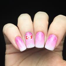 cross hatch kitty bow nail art u2013 polished inka